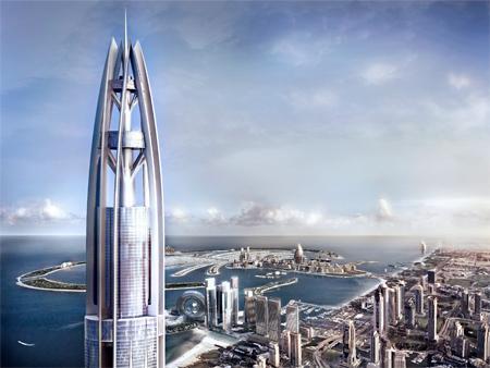 Dubai un grattacielo alto un chilometro - Dubai grattacielo piu alto ...